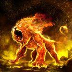 Leo cuando está enojado